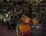 Wood Bros. Music 5piece Drumsets