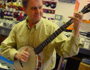 Wood Bros Music's Paul Rice Tunes up the ol' Clawhammer Banjo