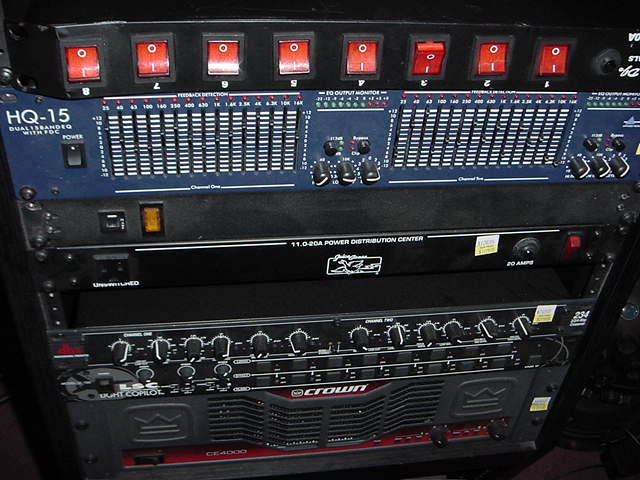 Rental Rack Gear
