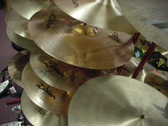 Wood Bros. Music sells Cymbals in Pittsfield, MA 01201